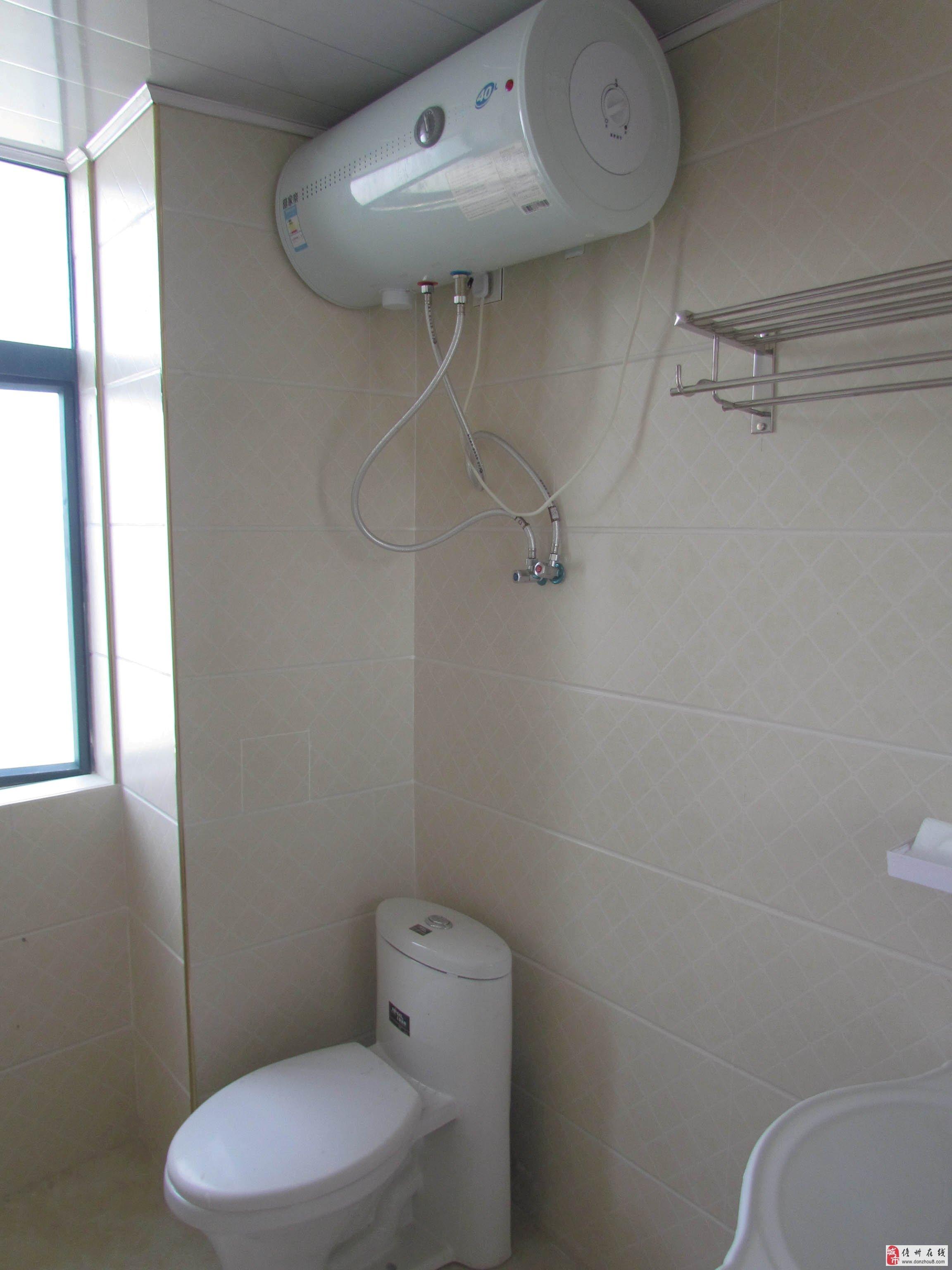洗手间:洗衣机,坐便,洗手池,热水器,花洒. 主卧:空调,欧式床1.