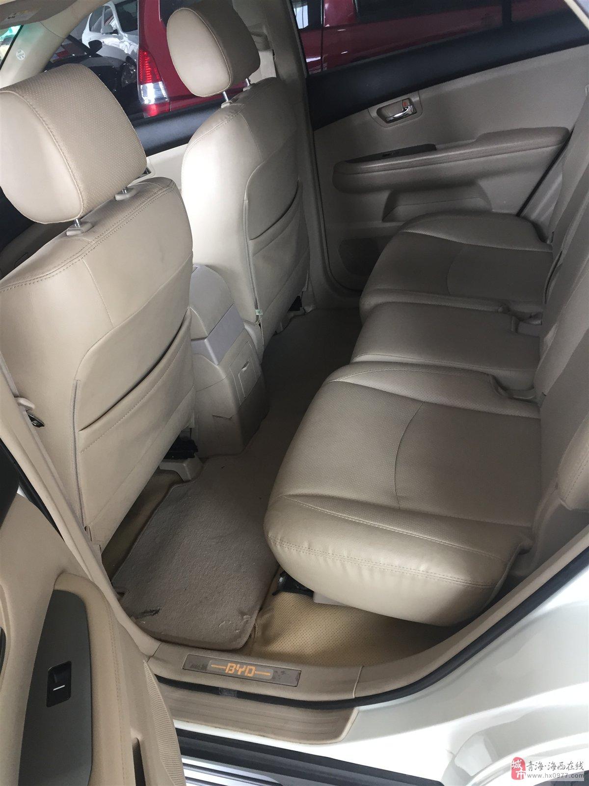 出售BYD2013款白金版2.4L自动尊享型SUV