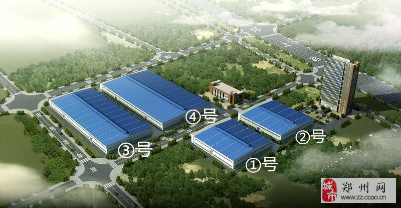 郑州绕城高速豫龙出口大型标准厂房低价出租!