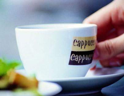 用咖啡演演文艺