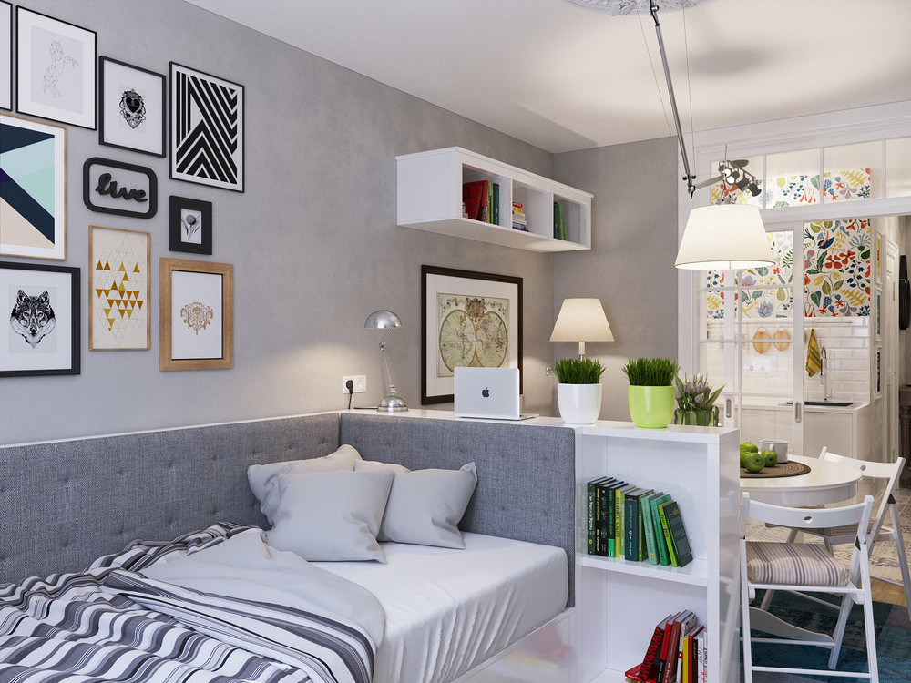 25平方的单身公寓