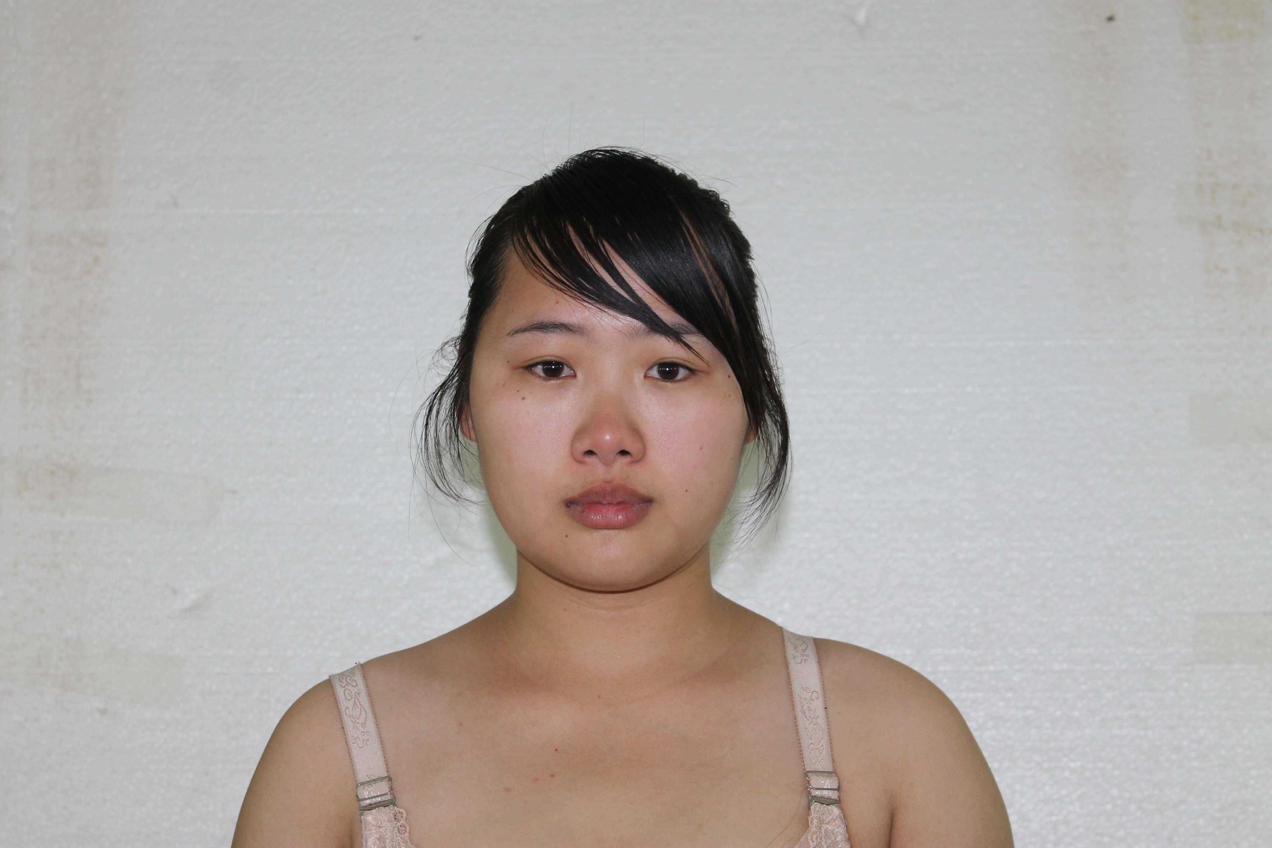 化妆师张刘杰.模特候文松