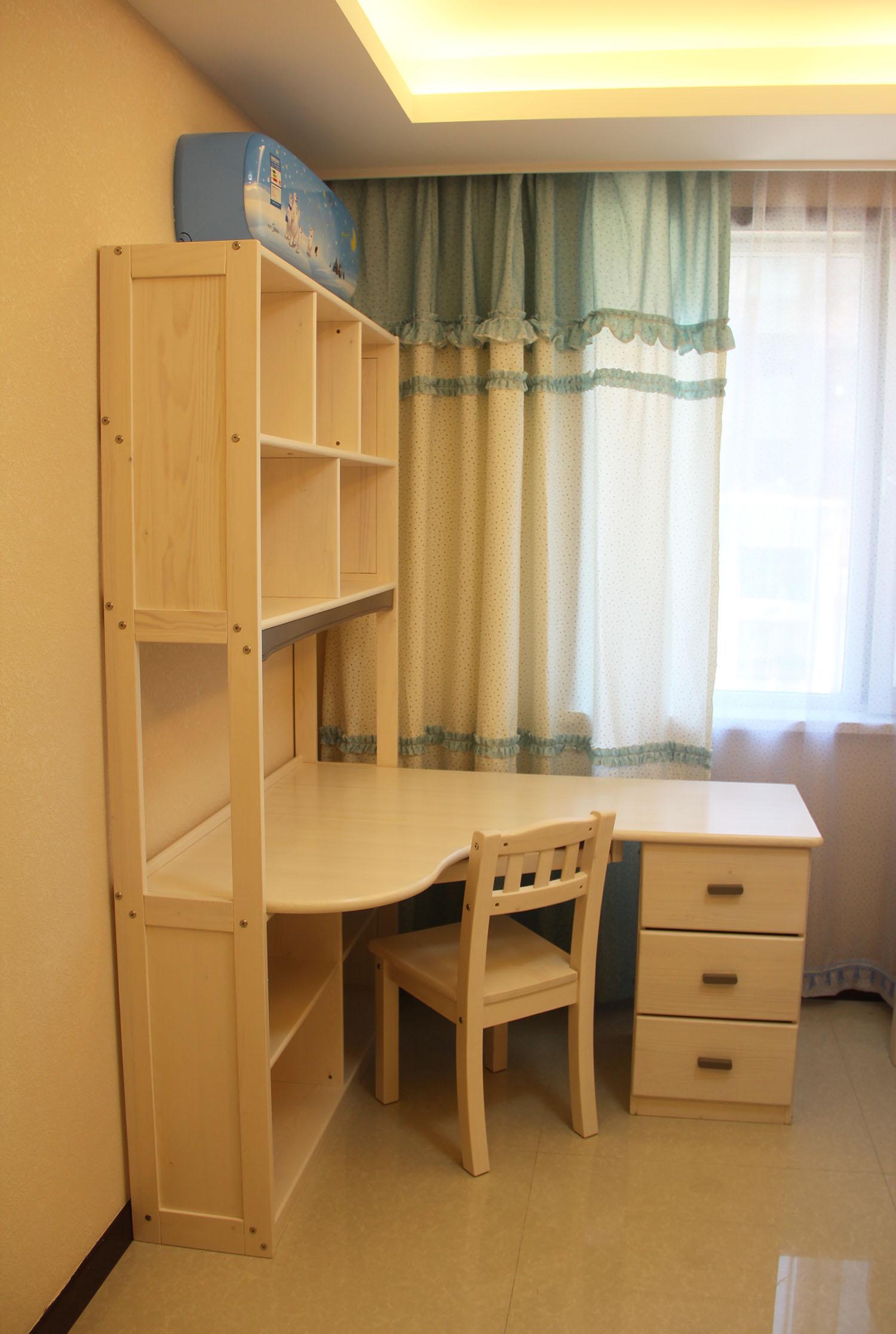 儿童家具安装实景图
