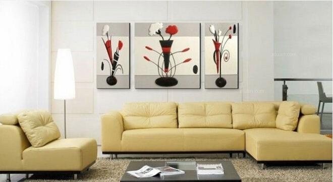 教你家居装饰画布置的三原则