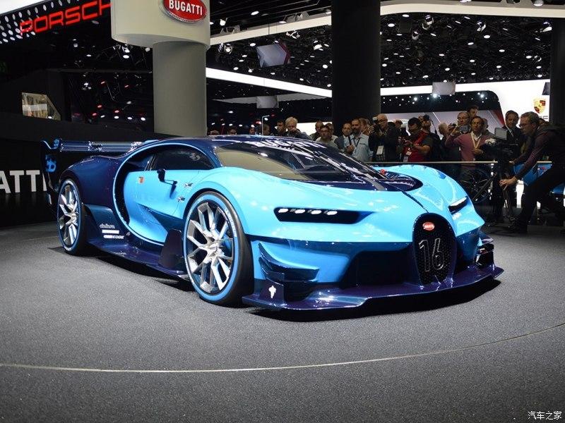 布加迪>Vision GT>2015款 基本型