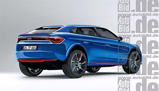 最新车型展示奥迪Q6