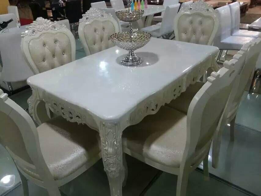 �W式餐桌