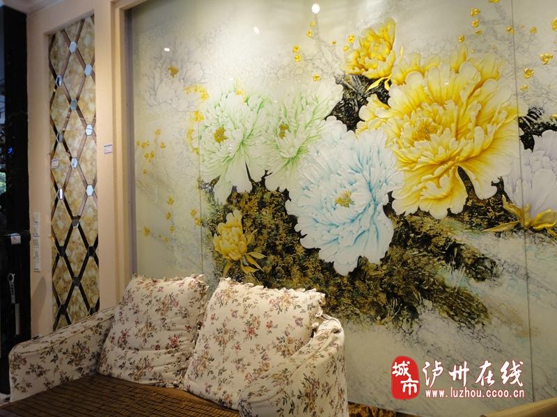 泸州金典家居电视背景墙装饰设计的原则