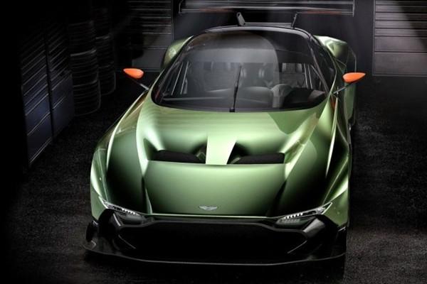全球限量24台 阿斯顿·马丁Vulcan赛车