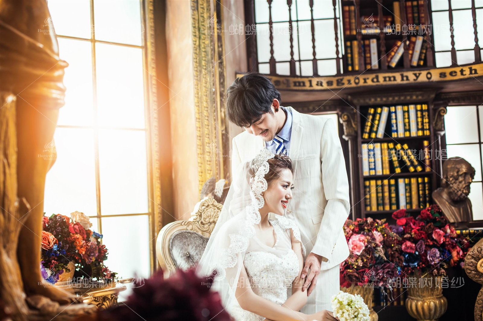 室内婚纱・蝴蝶树