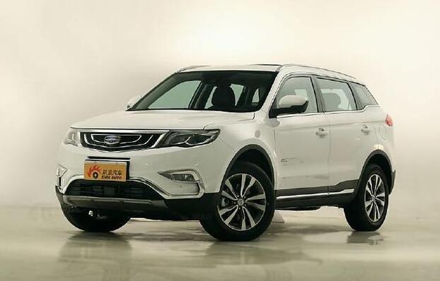 吉利博越——最美自主SUV将在3月26日正式上市