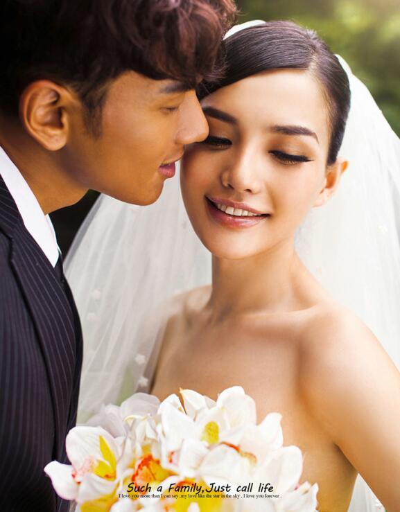 {森林婚礼}婚纱样片