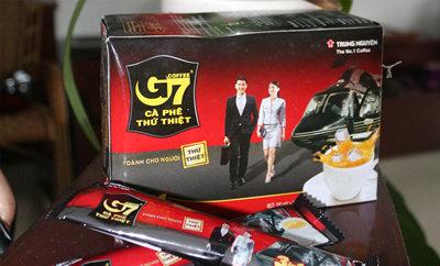 福客来商行越南进口中原g7咖啡 g7三合一速溶咖啡