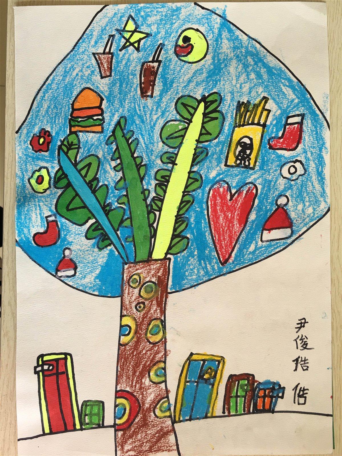 画睢宁的风景儿童画