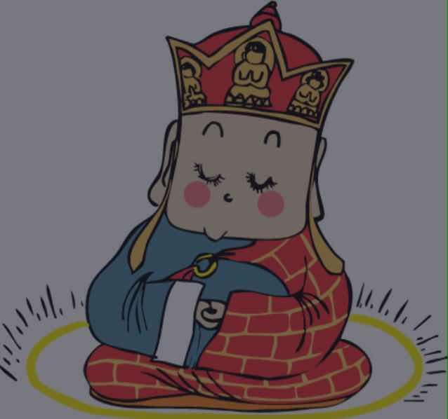 唐僧简笔画儿童