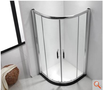 箭牌卫浴圆弧型简易淋浴房al0808s1