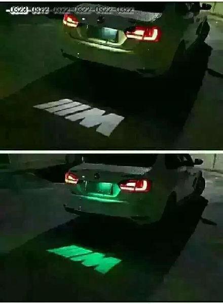 汽车牌照灯