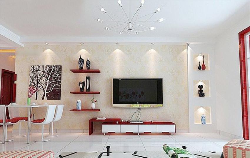 50款漂亮的电视墙 瓷砖