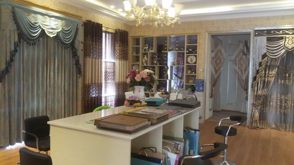 窗帘店平面设计