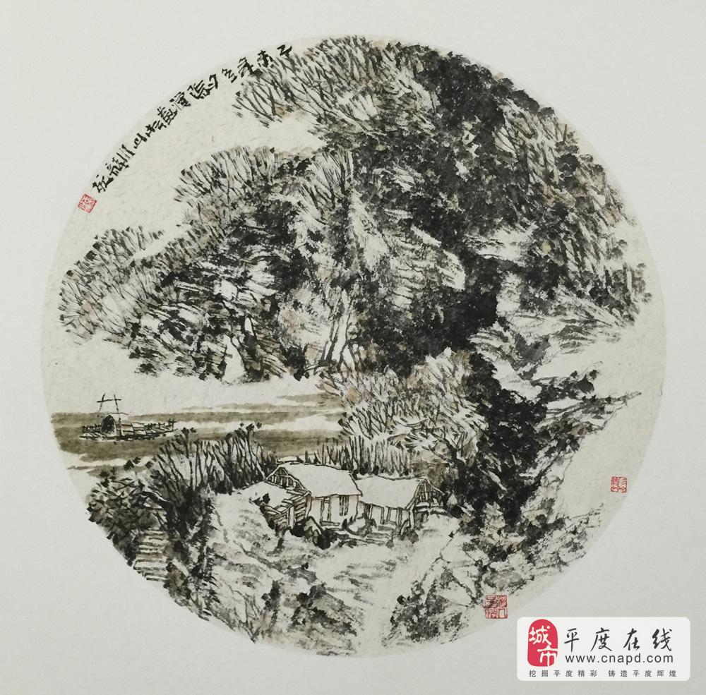 张涌山水画艺术工作室