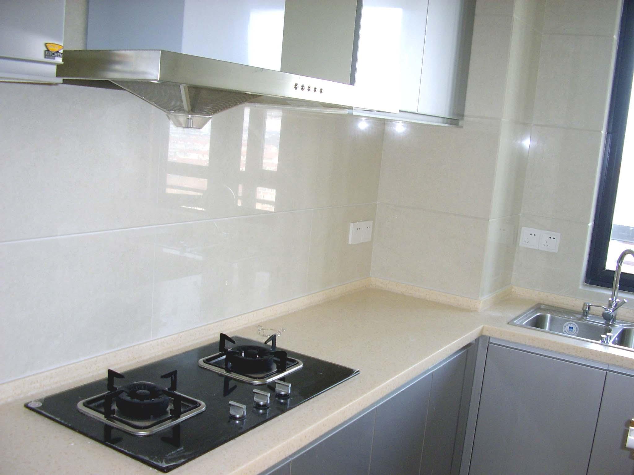 瓷砖厨房灶台步骤图 做法
