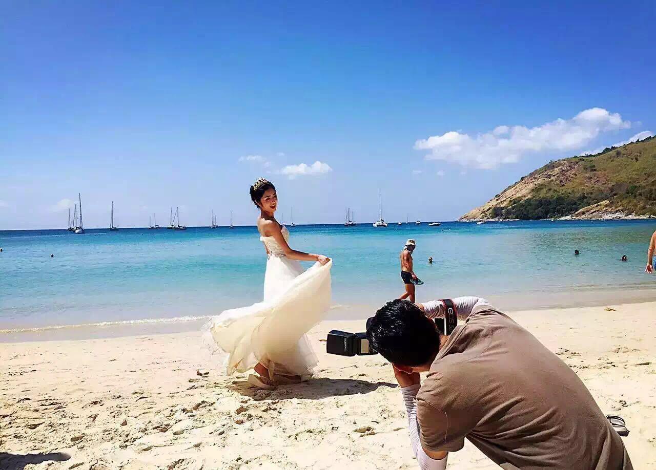 婚纱摄影三亚_三亚海景婚纱摄影图片